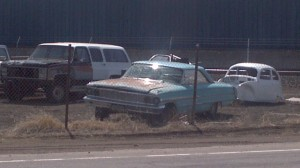 1964 Ford Galaxie 500XL seen near Klamath Falls, Oregon.