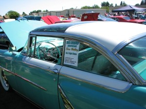 1955 Mercury Sun Valley Drivers Door