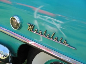 1955 Mercury Sun Valley Montclair Fender Script