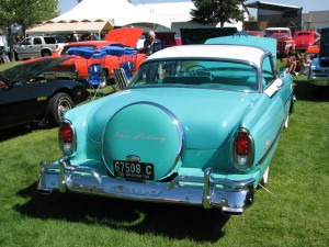 1955 Mercury Sun Valley Rear