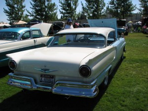 1957 Ford Fairlane Rear