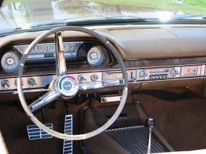 1964 Ford Galaxie 500XL Convertible Dash