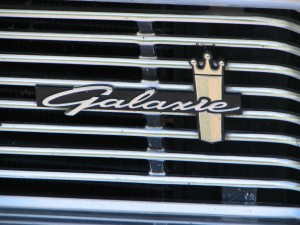 1964 Ford Galaxie 500XL Convertible Grille Script